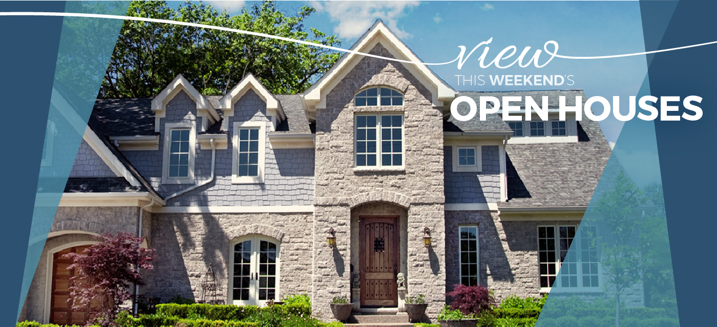 View this weekend's Open Houses
